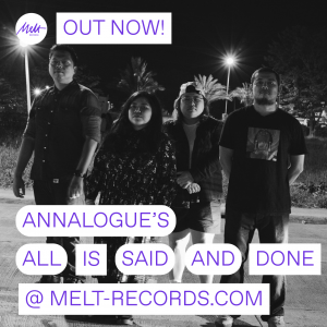 """Annalogue's """"All Is Said And Done"""" Out Now! 
