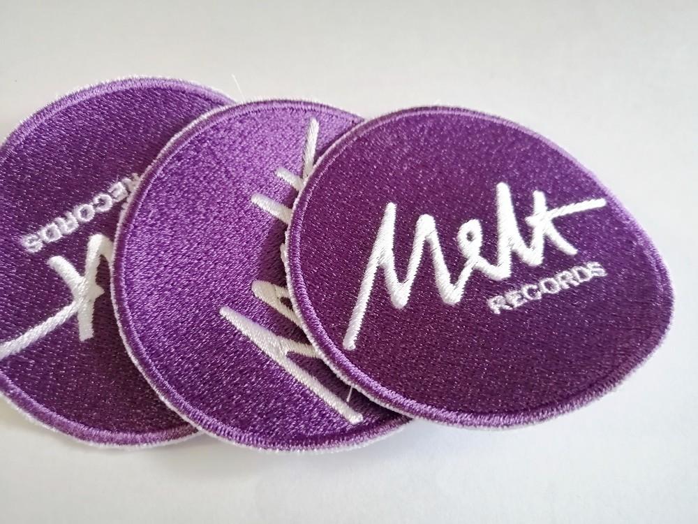"""Melt Records 3"""" patch   Melt Records"""