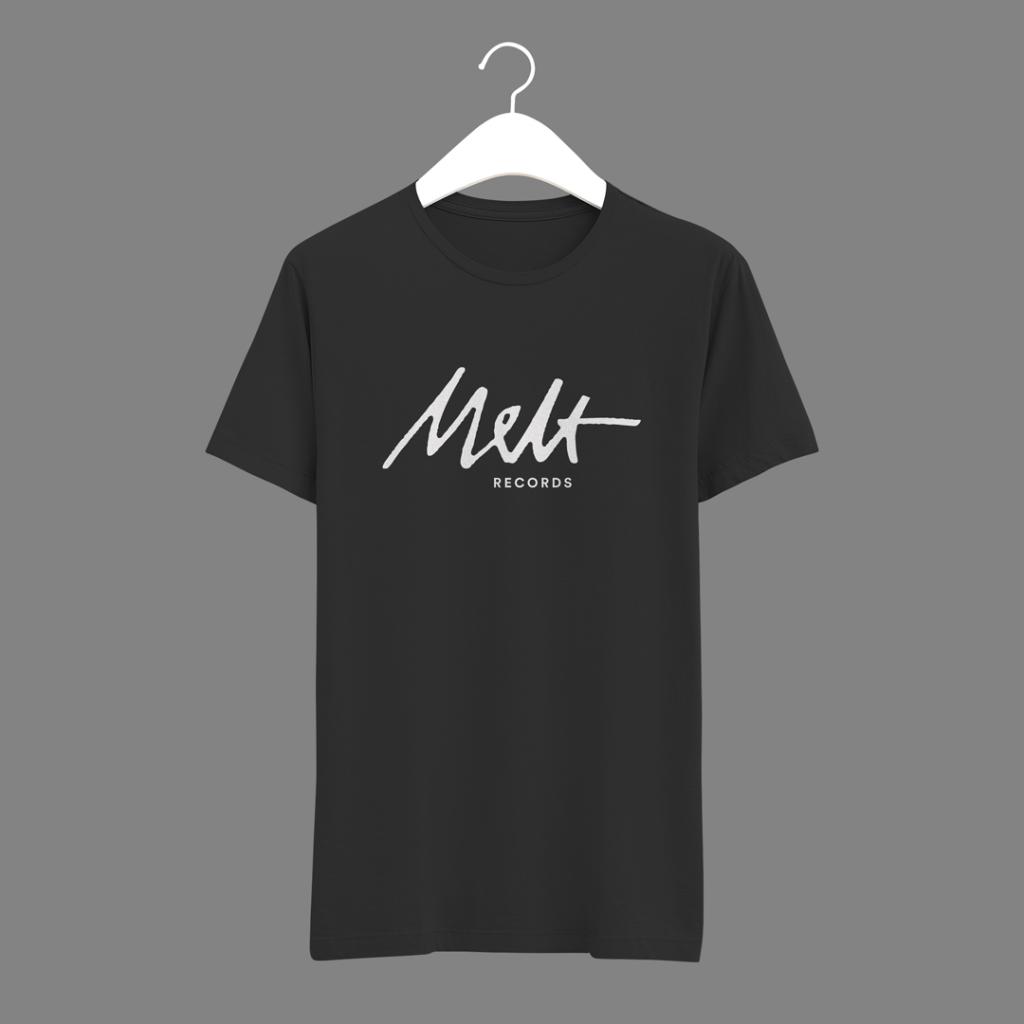 Melt Records T-Shirt (V.1) - Black | Melt Records