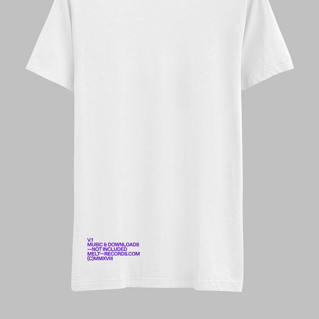 Melt Records T-Shirt (V.1) - White | Melt Records