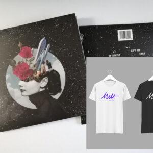 "UJU ""Dream of Better Days"" CD-R + Melt Records Logo Tee Bundle | Melt Records"
